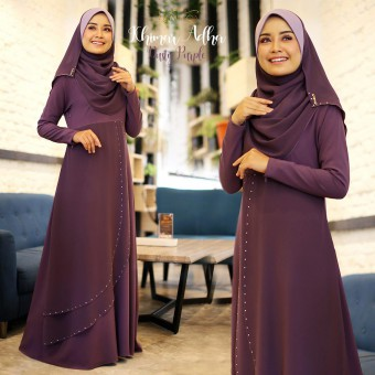 Khimar Adha - Dusty Purple