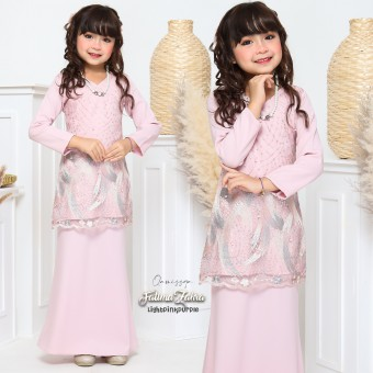 Fatima Zahra  Kids 2/4 - Light Pink Purple