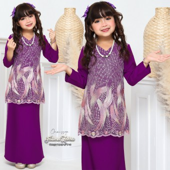 Fatima Zahra  Kids 6/8/10 - Magenta Purple