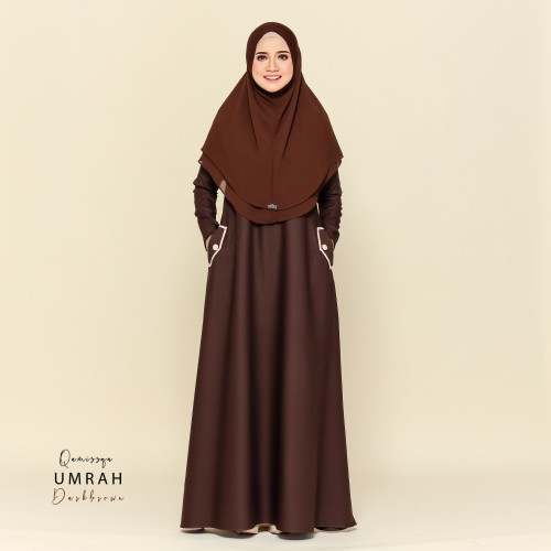 Medina Umrah Attire - Darkbrown