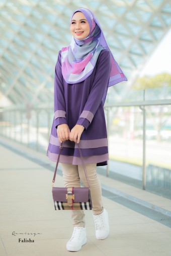 Falisha Blouse - Purple