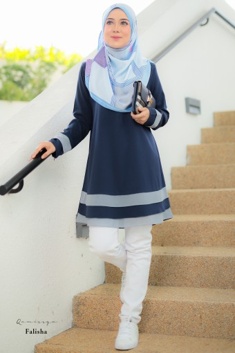 Falisha Blouse - Darkblue