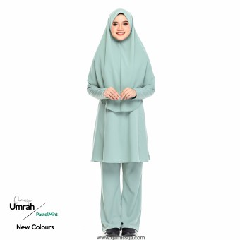 Mecca Umrah Suit 2.0 - Mint Green