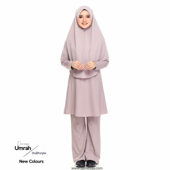Mecca Umrah Suit 2.0 - Dull Purple