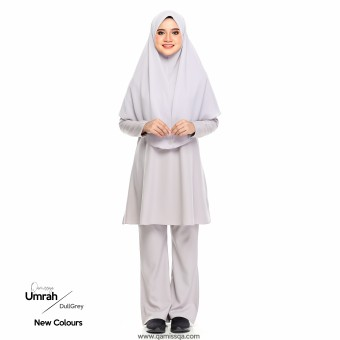 Mecca Umrah Suit 2.0 - Dull Grey