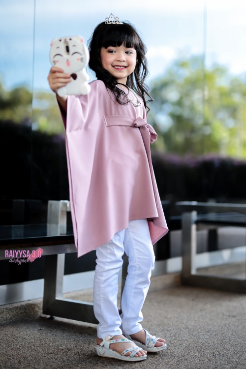 Raiyssa Kids - Dusty Pink