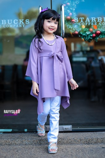 Raiyssa Kids - Lavender Purple