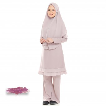 Raudhah Umrah - Soft Purple