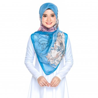 Bawal Rose - Soft Blue