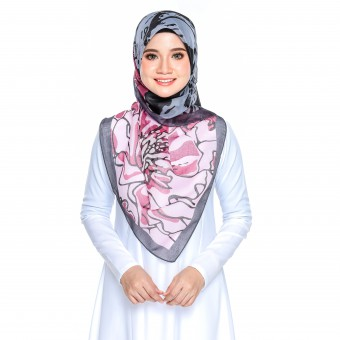 Bawal Rose - Black Pink