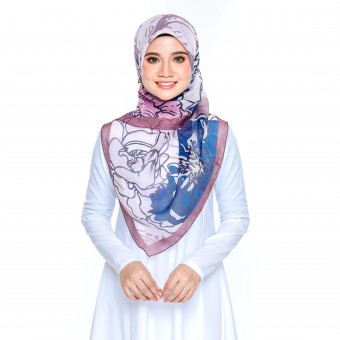 Bawal Rose - Purple Blue