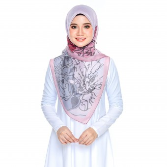 Bawal Rose - Grey Pink