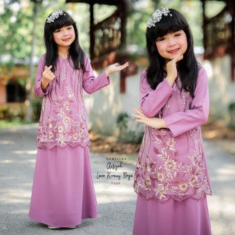 Aisyah Kids 2/4 - Purple