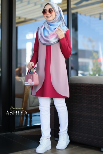 Ashiya - Elegant Red