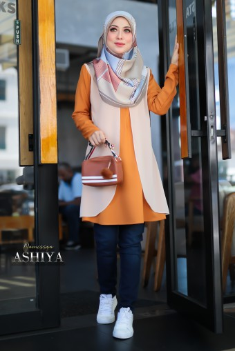 Ashiya - Cream Orange