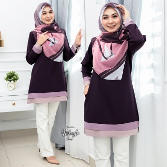 Mikayla Blouse - Purple