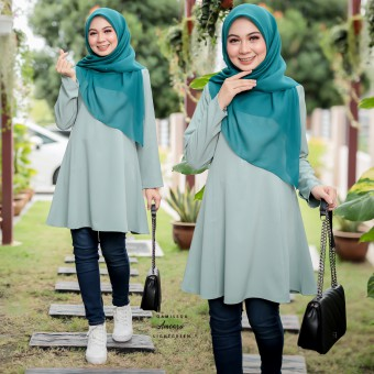 Ameera Blouse - Light Green