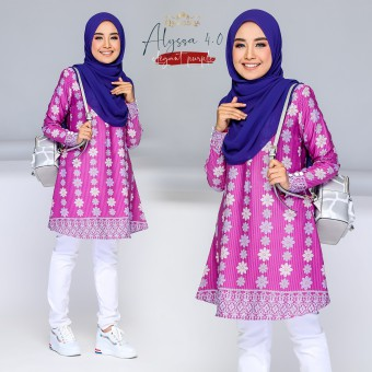 Alyssa Blouse - Purple
