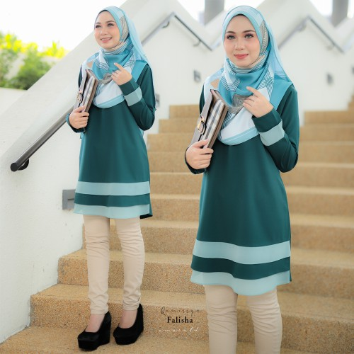 Falisha Blouse - Emerald