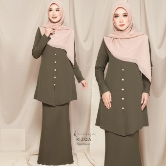 Rizqa Kurong - Forest Green