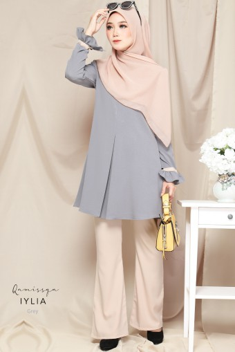 Iylia Blouse Raya - Grey