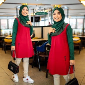 Luthfia - Green Red
