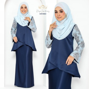 Hasya Lace Kurong - Luxury Darkblue