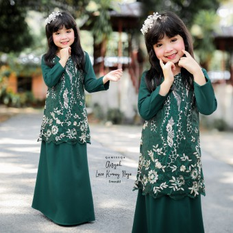 Aisyah Kids 2/4 - Emerald