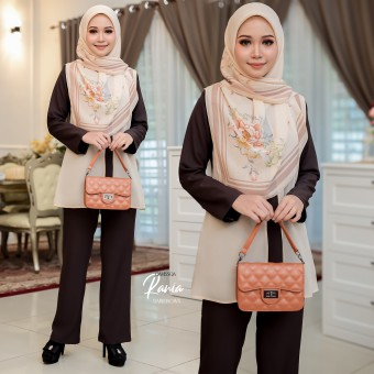 Rania Suit - Darkbrown