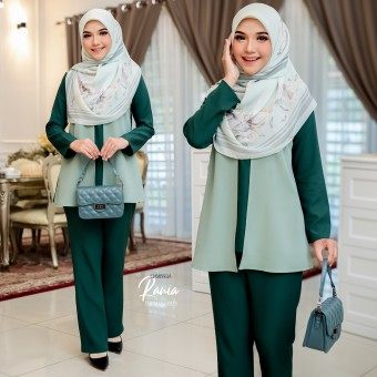 Rania Suit - Emerald