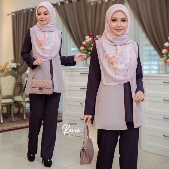 Rania Suit - Purple