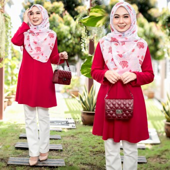 Ameera Blouse - Red